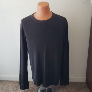 Lucky Brand ribbed thermal shirt